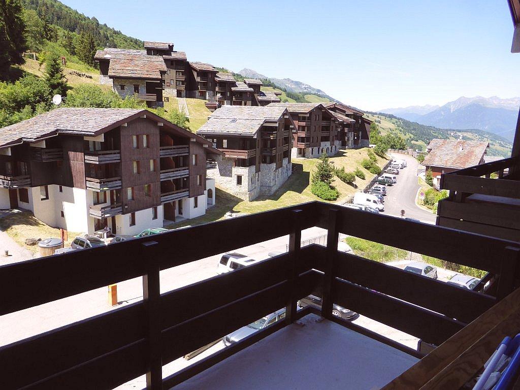 Foto van het balkon van appartement Souche 15