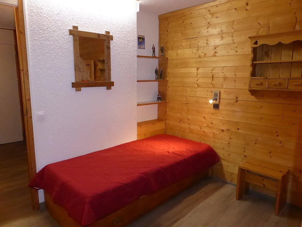 Foto van het eenpersoonsbed in appartement Souche 16
