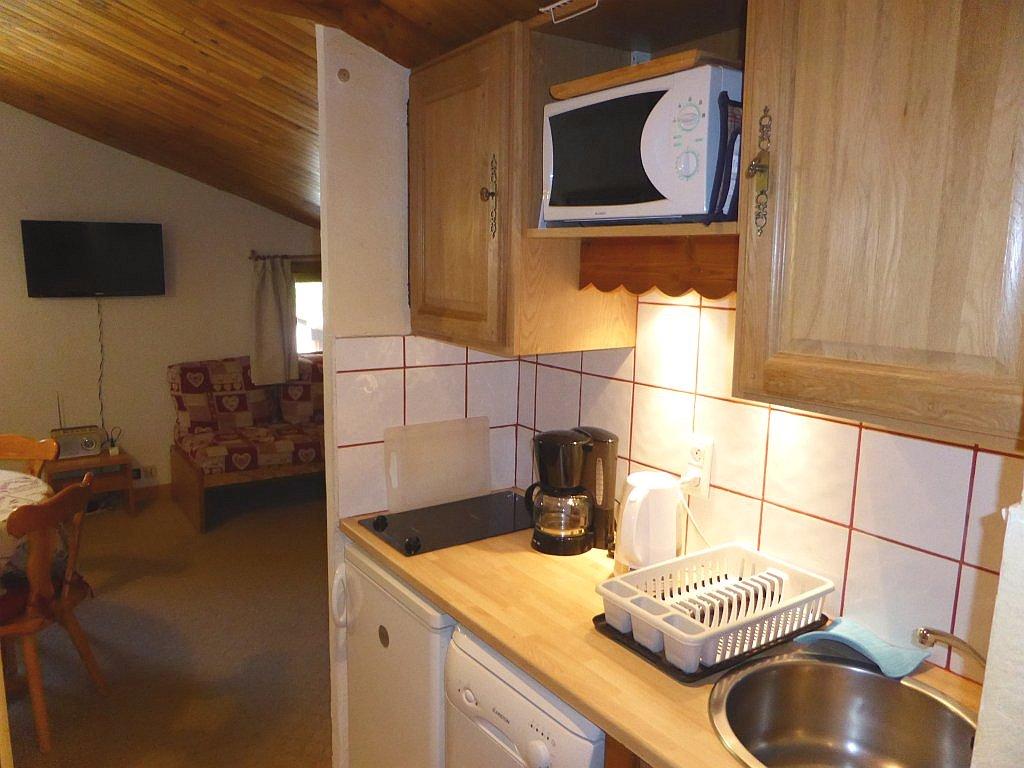 Foto van de keuken van appartement Souche 23