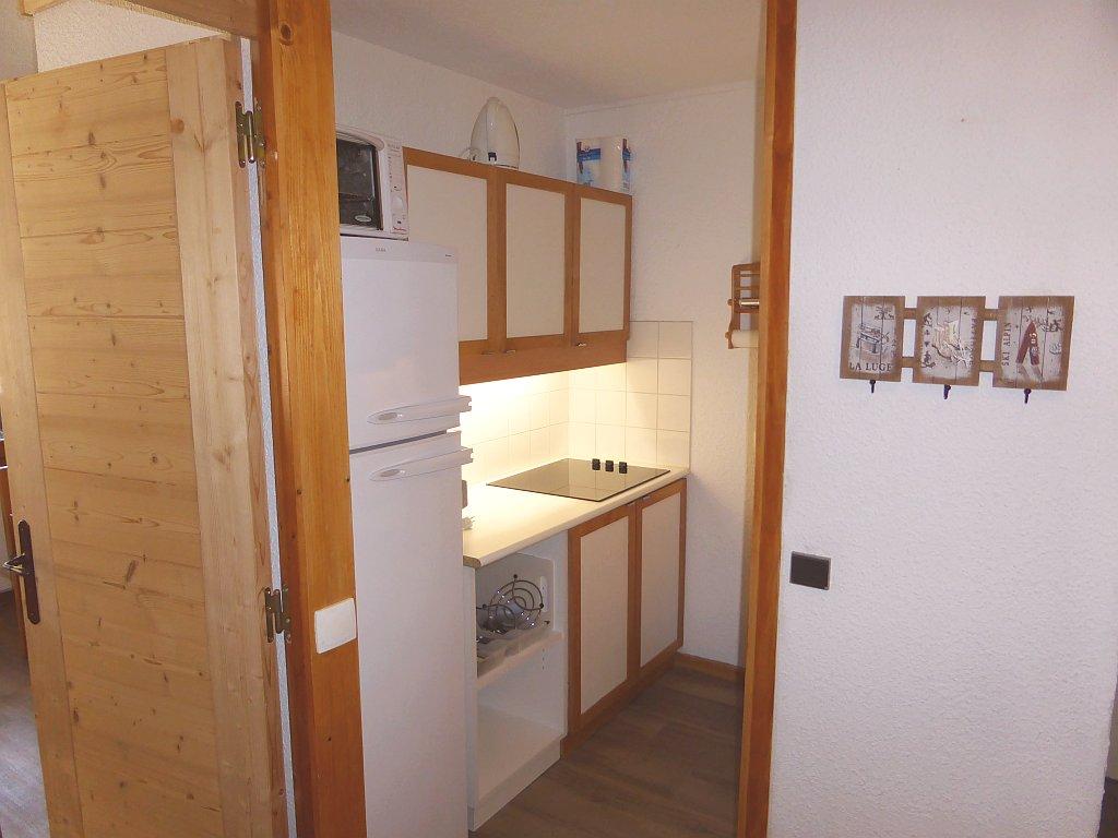 Foto van de keuken van appartement Souche 8
