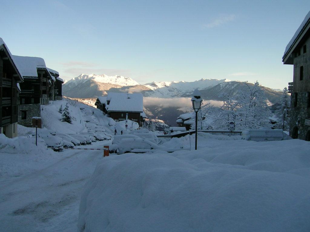 Valmorel in de sneeuw