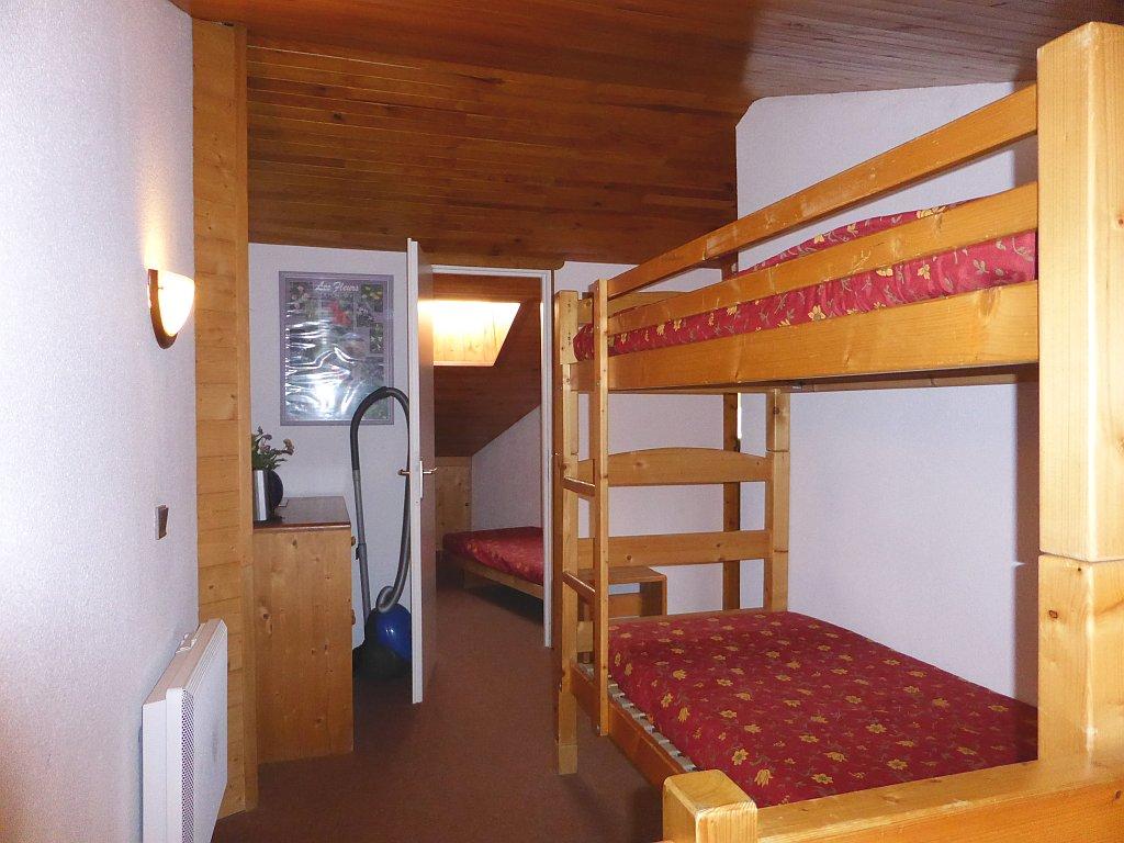 Foto van het stapelbed van appartement Clairière 35