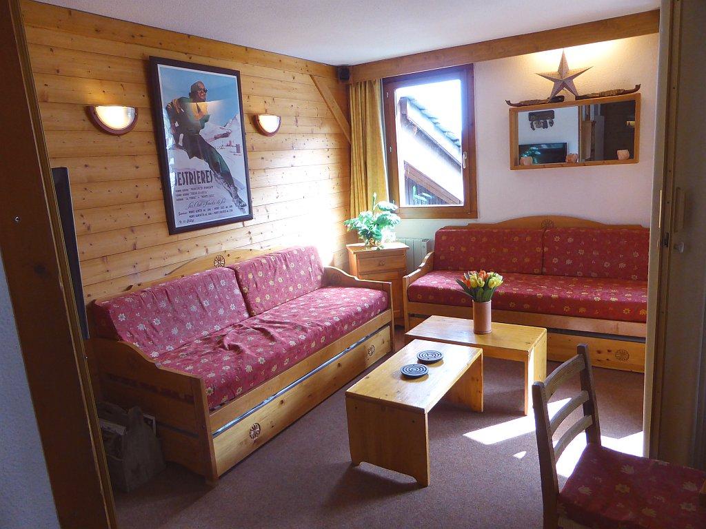 Foto van de woonkamer van appartement Clairière 35