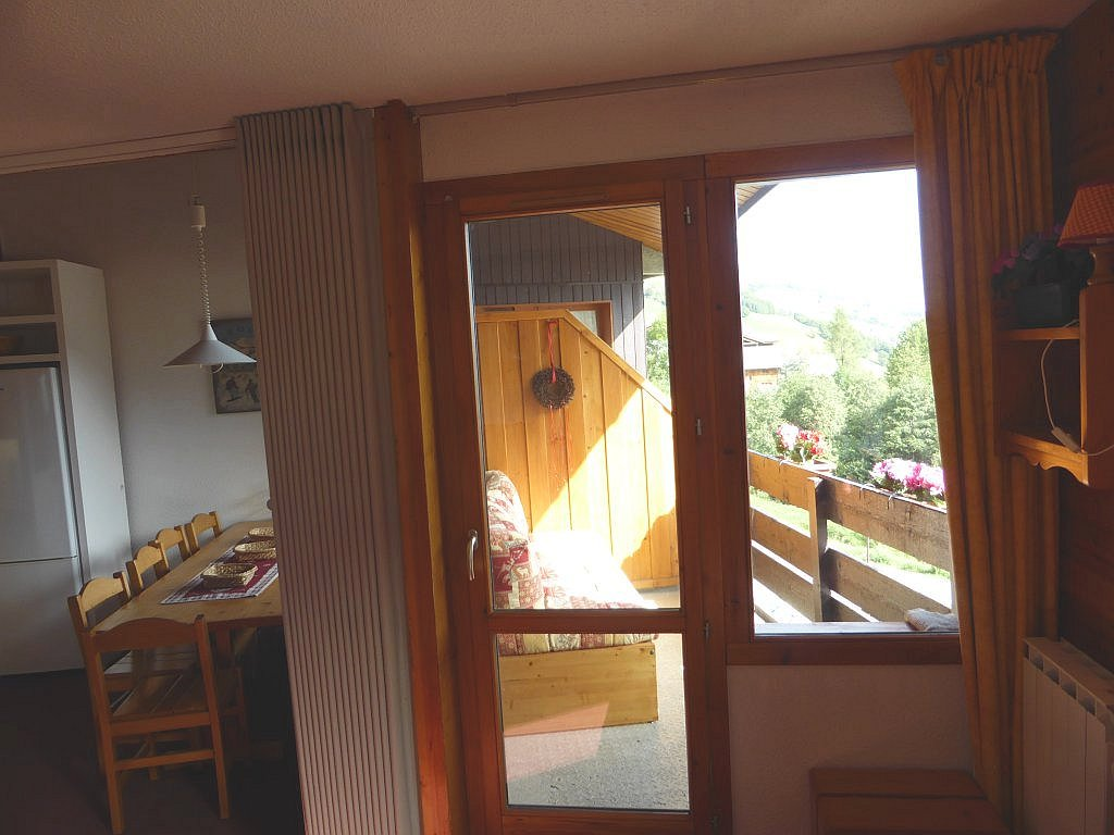 Foto van het de balkon toegang van appartement Clairière 27