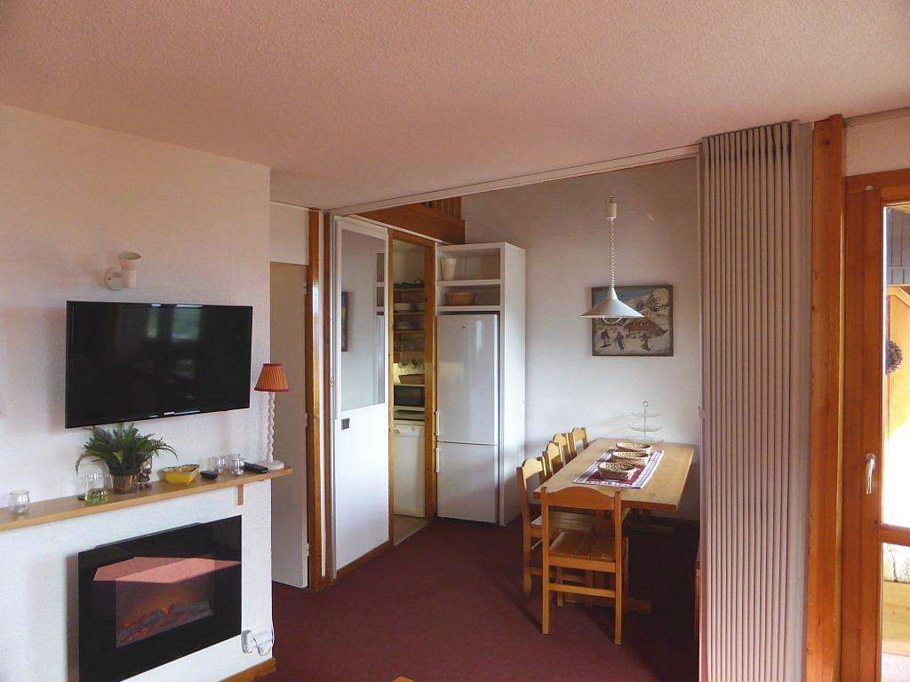 Foto van de eethoek van appartement Clairière 27