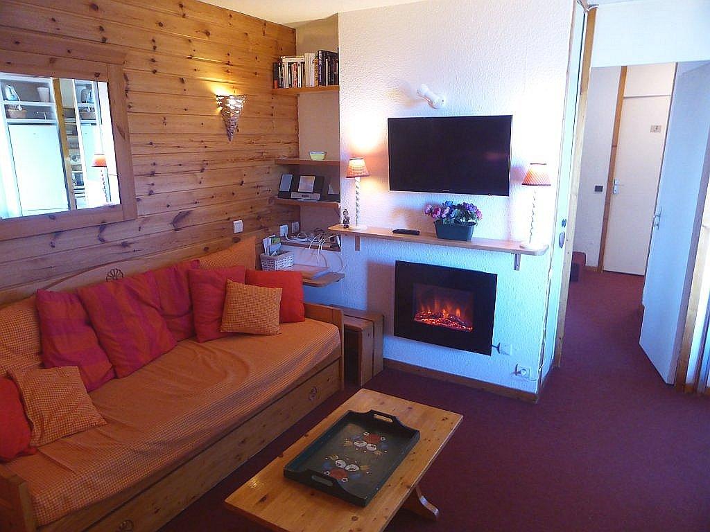 Foto van de woonkamer van appartement Clairière 27