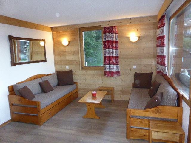 Foto van de woonkamer van appartement Souche 9